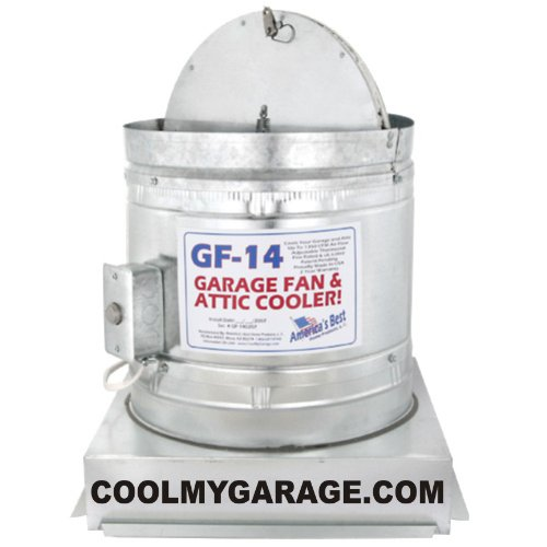 Images for GF-14 Garage Fan and Attic Cooler