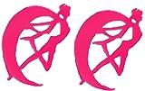 (エイチケーエイチ) HKH セーラー ムーン アクセサリー グッズ ペンダント チョーカー ピアス ネックレス レディース (ピアス, ピンク)