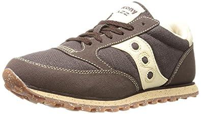 Saucony Originals Men's Jazz Low Pro Vegan Fashion Sneaker,Brown,7 M US