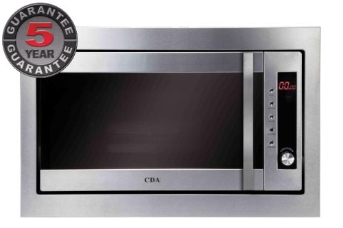 CDA MC41SS+FM2SS Built in Combi microwave oven in St/steel+Frame kit