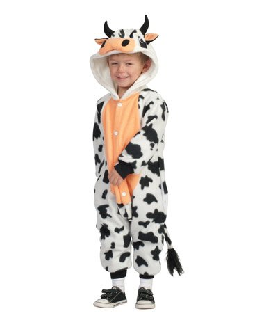 Rg Costumes & Accessories, Inc Unisex Child Anime Cow Toddler Costume