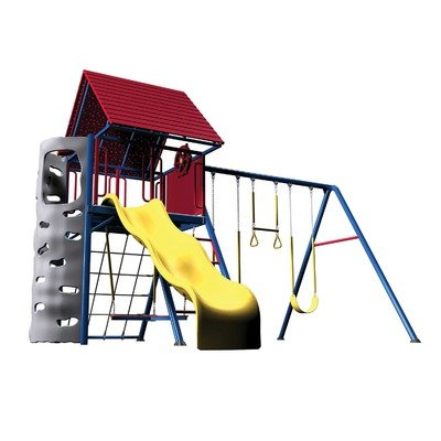 Lifetime Heavy-Duty Metal Playset with Clubhouse