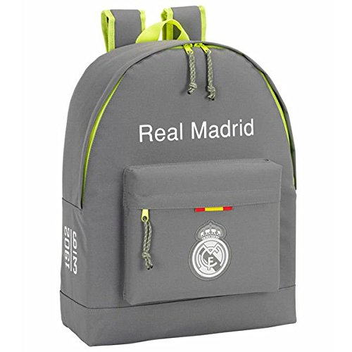 REAL MADRID GREY Zaino 43 cm x 32.5 cm x 15 cm