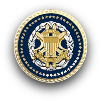 Joint Chiefs of Staff Presidential Tie Tac / Lapel