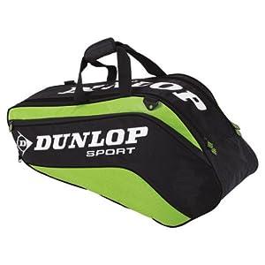 Buy Biomimetic Tour 6 Pack Green Tennis Bag by Dunlop