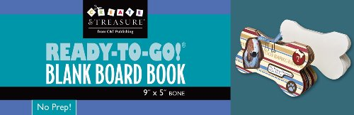 Ready-to-Go Blank Board Book Bone (Ready-To-Go Blank Books)