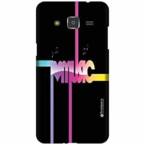 Printland Designer Back Cover for Samsung Galaxy j2 - Music Is Cool Case Cover