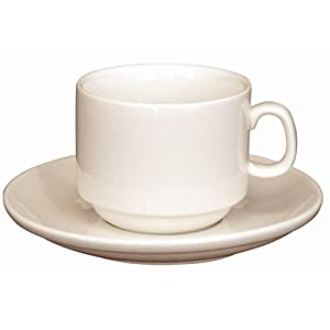 Ivory Stacking Espresso Cup 3oz. Box quantity 12.