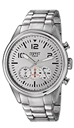 Esprit Chronograph White Dial Mens Watch - ES106321004-N