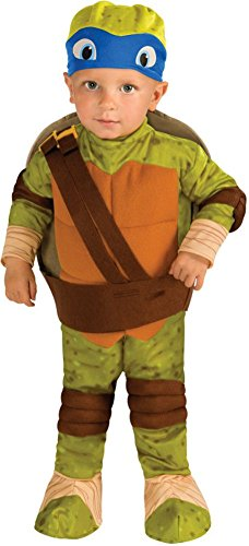 Teenage Mutant Ninja Turtles Leonardo Romper Shell & Headpiece Costume