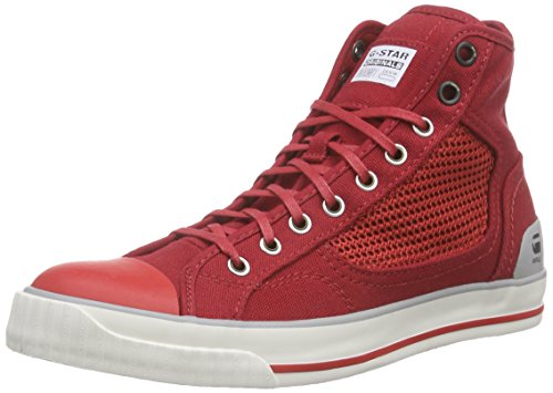 G-Star Raw Donna, Sneakers, Falton Wmn Mesh Hi, Rosso (Red-603), 39