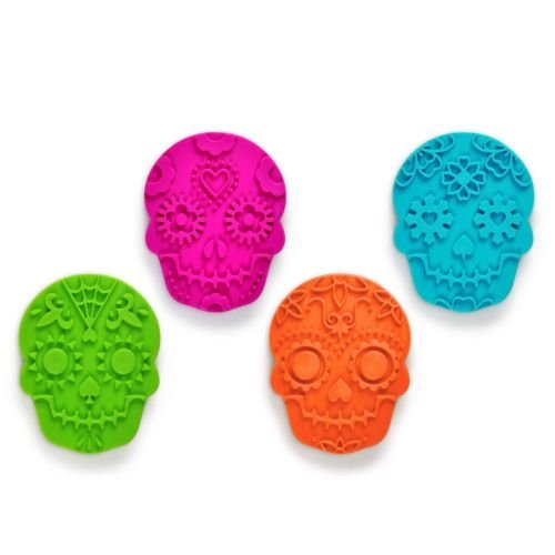 FRED Sweet Spirits Sugar Skull Cookie Cutters and Stampers Mold Halloween Party (The Spirit Of Halloween Store Locations)