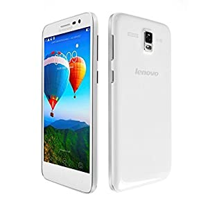 Lenovo A806 LTE 8コア 5インチHD RAM2GB ROM16GB SIMフリー (ホワイト) [並行輸入品]