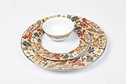 Lakline Porcelain Dinner Set 18 Pcs - HL80154