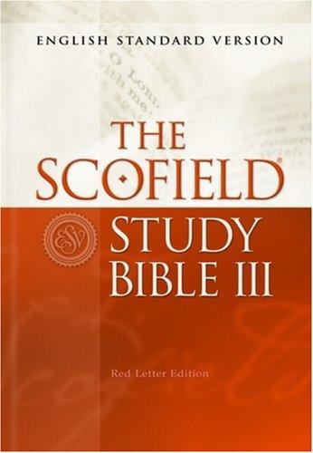 The Scofield® Study Bible III, ESV