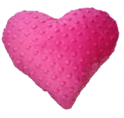 Maine Balsam Heart Pillow (Fuschia)