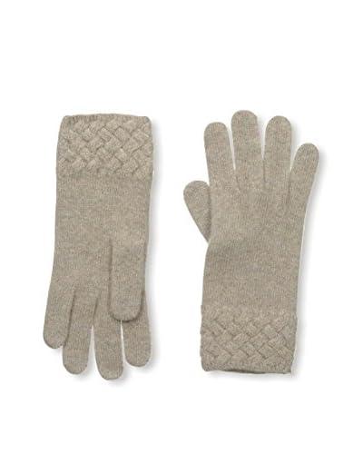 Portolano Women's Cashmere Glove, Nile Brown