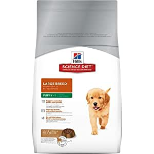 Hill's Science Diet Puppy Lamb Meal and Rice Recipe Large Breed Dry Dog Food, 15.5-Pound Bag