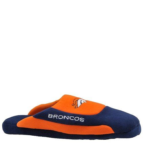 Nfl Low Pro Stripe Slipper Size: 4-5.5, Color: Denver Broncos front-474582