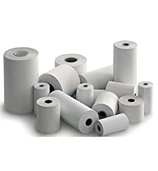 Thermal Paper Rolls 57mm (Width) x 25 Mtrs (Length), Pack of 10 Rolls