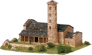 Maquette en céramique - Eglise de Santa Coloma, Andorra la Vella, Andorre