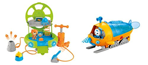 Octonauts Combo - Gup S And Deep Sea Octo Lab Playsets!