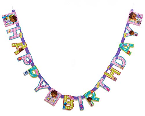 Doc McStuffins Birthday Party Banner, Party Supplies