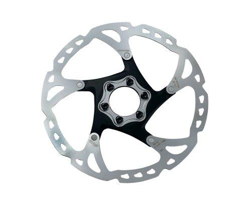 shimano sm rt 76 disque de frein deore xt 6 trous argent argent 180 mm freins. Black Bedroom Furniture Sets. Home Design Ideas