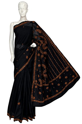 ADA-Hand-Embroidered-Ethnic-Wear-Chikankari-Cotton-Saree-With-Blouse-A106350