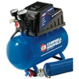 Campbell Hausfeld FP209000DI 2 Gallon, Air Compressor, Horizontal Tank by Campbell Hausfeld