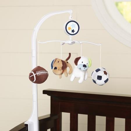 Garanimals Play Ball Musical Crib Mobile - 1