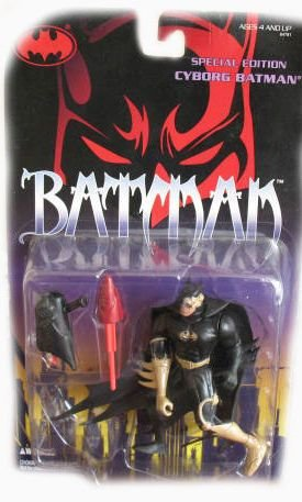 Batman Special Edition Cyborg Batman Action Figure - 1