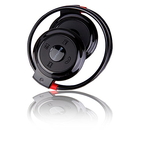 Boriyuan Mini Portable Sportstyle Bluetooth Stereo Headset Bluetooth 3.0 Earphone With Built-In Microphone Volume Control For Mobile Phones, Laptops, Pda, Mp3/4/5 And Tablet Pcs And All Other Bluetooth Enabled Devices: Ipod, Iphone 6 4.7''/ Iphone 6 Plus front-348264