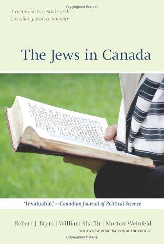 The Jews in Canada (Wynford Books)