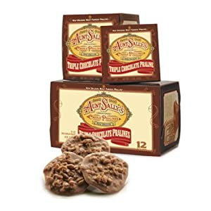 Triple Chocolate Pralines Box of 12