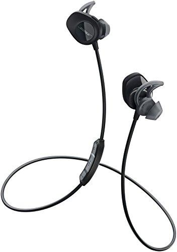 Bose ワイヤレススポーツイヤホン SoundSport 防滴仕様/Bluetooth・NFC対応/リモコン・マイク付き/通話可能 ブラック SSport WLSS BLK【国内正規品】