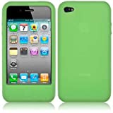 iPhone 4 and iPhone 5 Silicone Skins Case / Cover / Shell (iPhone 4S/4, Green)