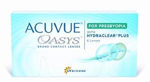 Acuvue Oasys for Presbyopia 2-Wochenlinsen weich, 6 Stück / BC 8.4 mm / DIA 14.3 / ADD HI / 3.50 Dioptrien