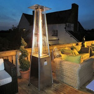 Athena - Living Flame 9.3 Kw Patio Heater