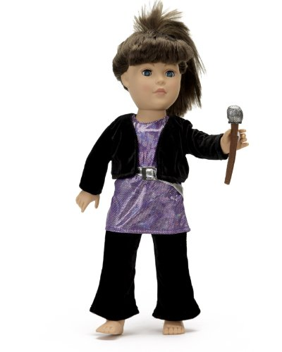 "Pop Star Outfit - 18 Inch Doll Clothes/Clothing Fits American Girl - Includes 18"" Dolls Accessories"