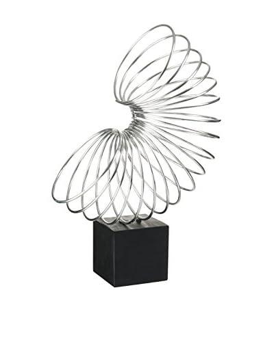 J-LINE Escultura Slinky