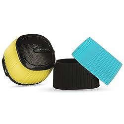 Amkette Trubeats Pixie Portable Bluetooth Speaker with Mic (Black)