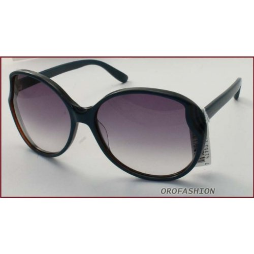 Marc by Marc Jacobs Oversize Sunglasses in Peacock Blue MMJ 368/S CA9 61 61 Gradient Grey