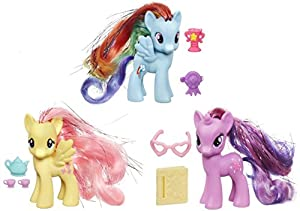 MLP My Little Pony Friendship Is Magic Crystal Empire Wave 2 (Set of 3) - Rainbow Dash / Fluttershy / Twilight Sparkle