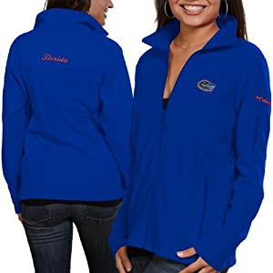NCAA Florida Gators Ladies Give and Go FZ T-Shirt by Columbia