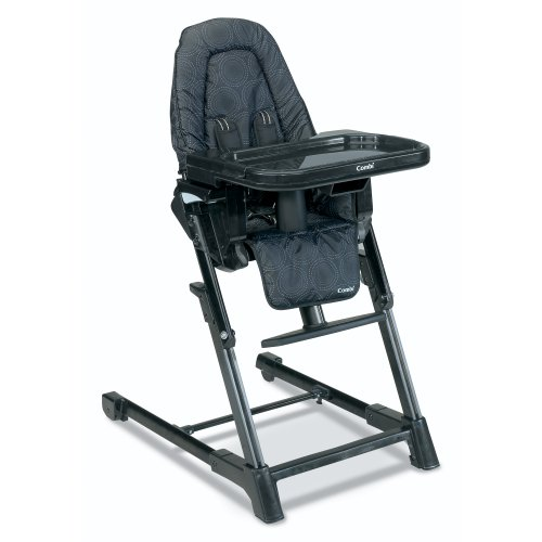 Combi High Chair, Black front-540598