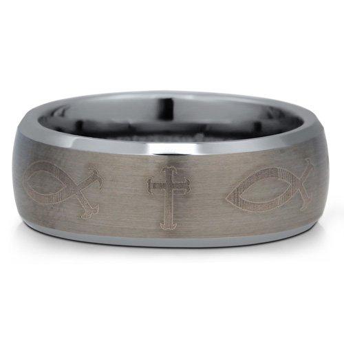 Jc wedding rings for Mens fishing wedding bands