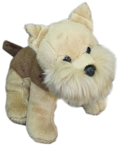 "Nic Nac Terrier Puppy 6"" Plush"
