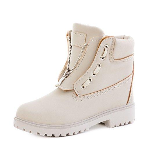 trendige-damen-winter-boots-schnur-stiefel-stiefeletten-mit-reissverschluss-gefuttert-beige-38