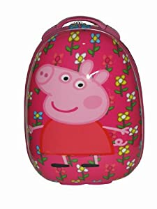 Peppa Pig Pebble Luxury Wheeled Bag Childs Suitcase